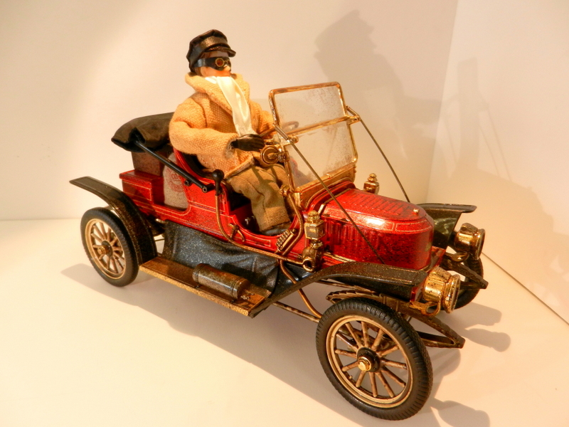 Stanley Steamer car with driver.