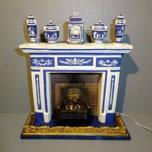Custom Wedgewood Fireplace