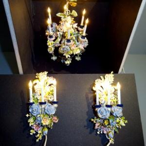 Custom Chandelier and wall lights