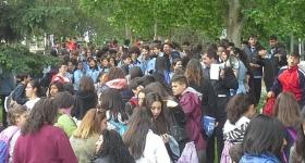 Celebración de San Isidro con Centros de Secundaria
