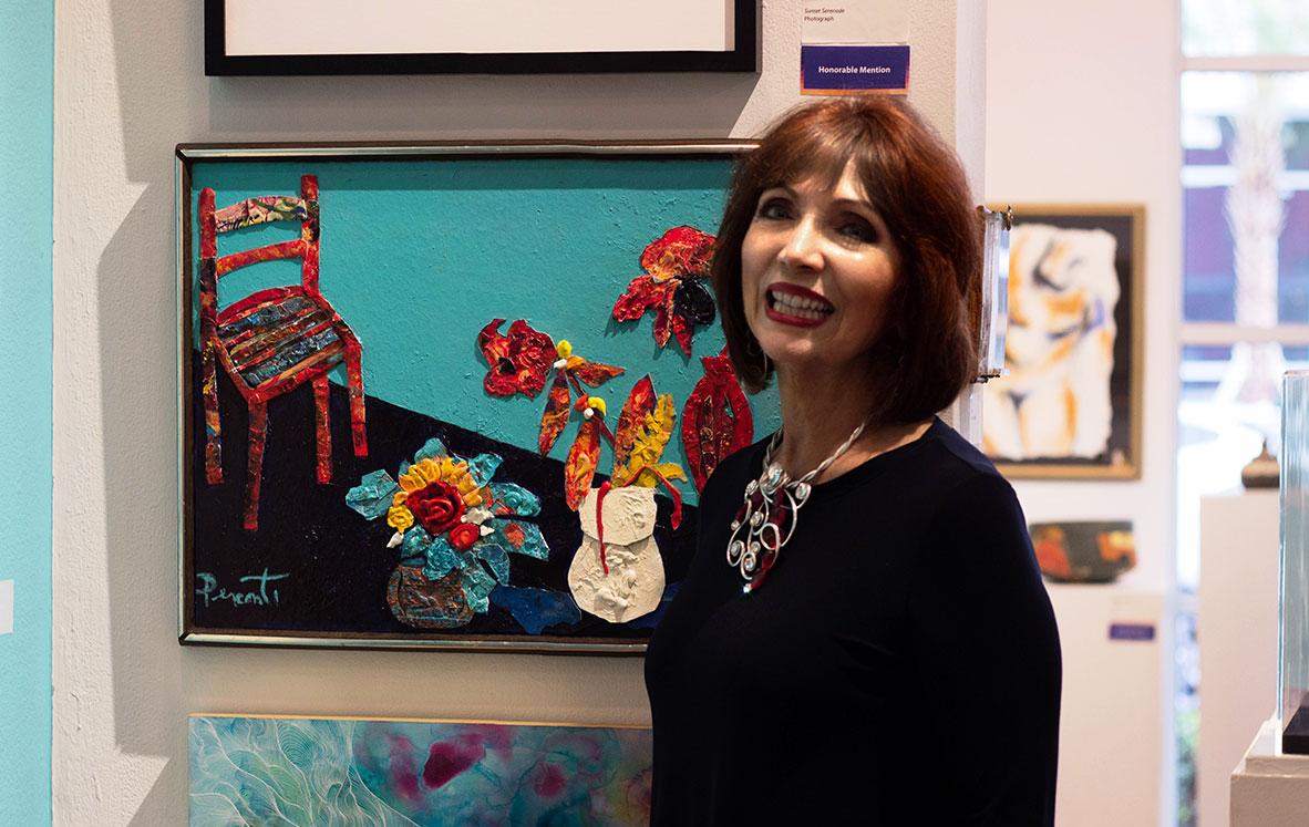 Dee Perconti at Morean Art Centre