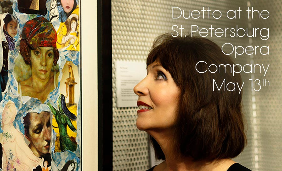Duetto at the St. Petersburg Opera Company May 13th