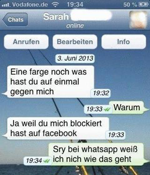 Versaute Whatsapp Chats