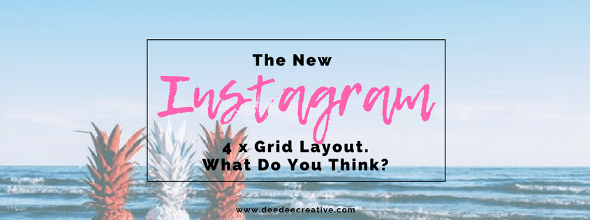 Instagram Four Grid Layout