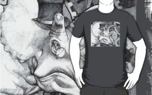Lord Triceratops - Grey or Gray