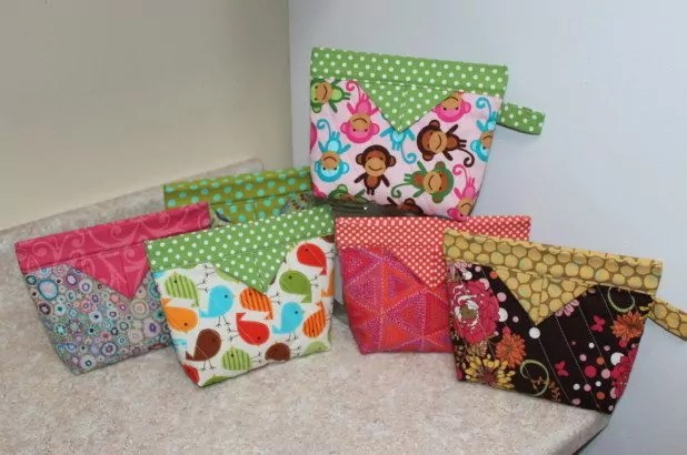Examples of Snap Bags as gifts