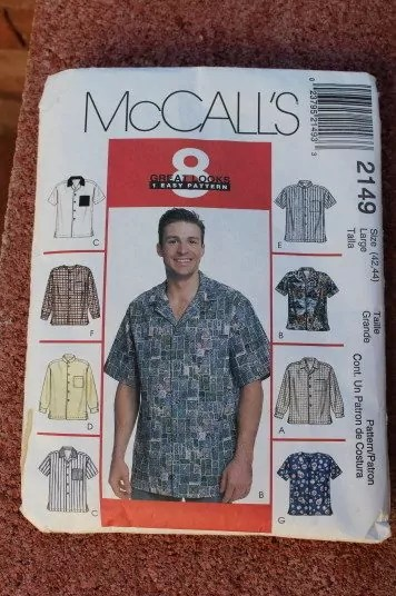 Great Pattern for Mens shirts