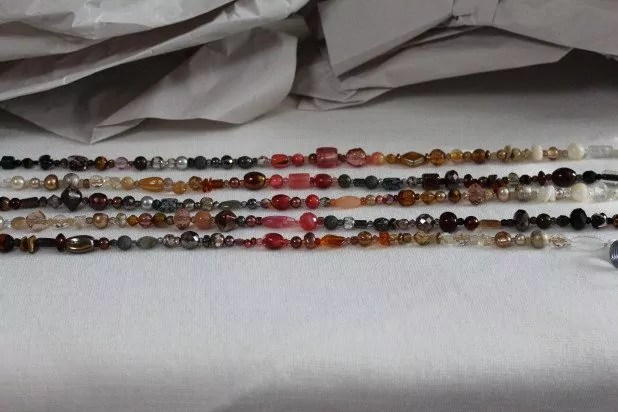 Coral beads featured