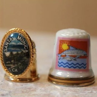 Thimbles from Santa Monica, CA