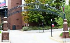 Duquesne University Gate