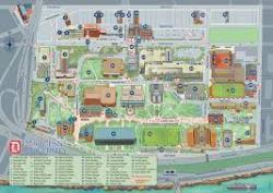 Duquesne University Map