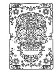 thumbnail of Mexican Sugar Skull 1
