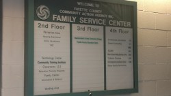 Fayette County Community Action Family Service Center Sign