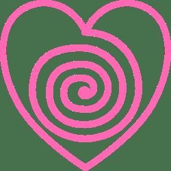Heart Hypnotic Swirl Pink 722px