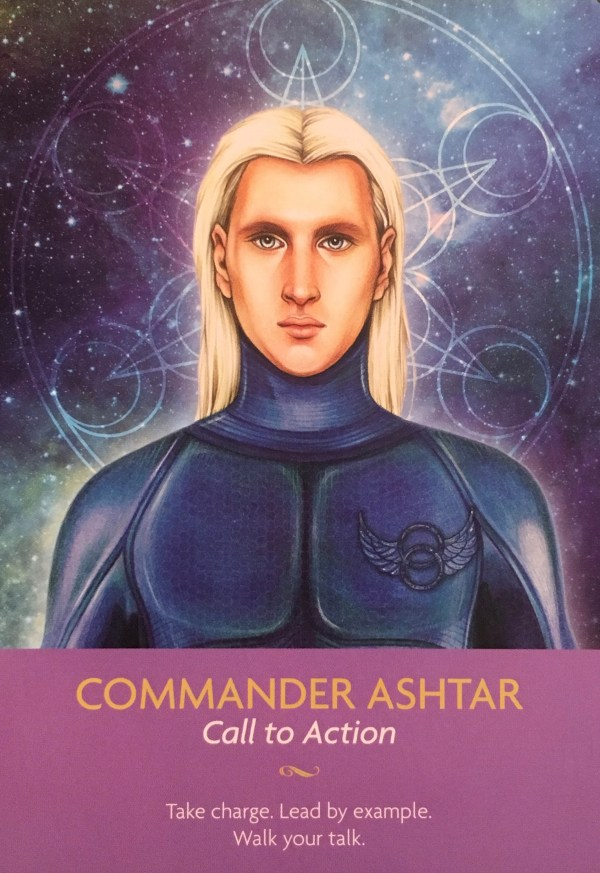 COMMANDER ASHTAR - Archangel Oracle - Divine Guidance