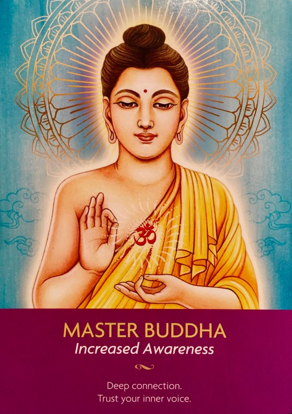 MASTER BUDDHA - Archangel Oracle - Divine Guidance