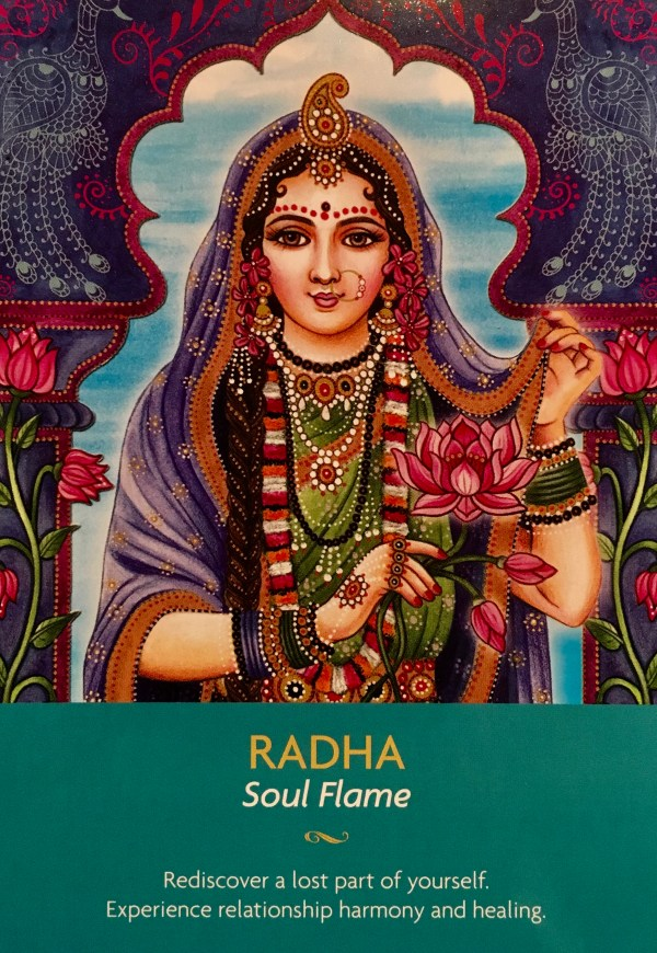 RADHA - SOUL FLAME - Archangel Oracle