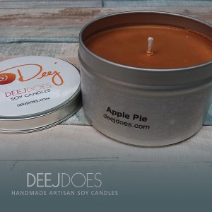 Apple Pie Soy Candle by DEEJ DOES
