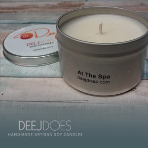 At The Spa Soy Candle by DEEJ DOES