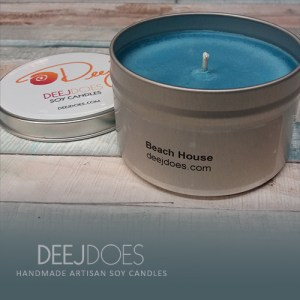 Beach House Soy Candle by DEEJ DOES