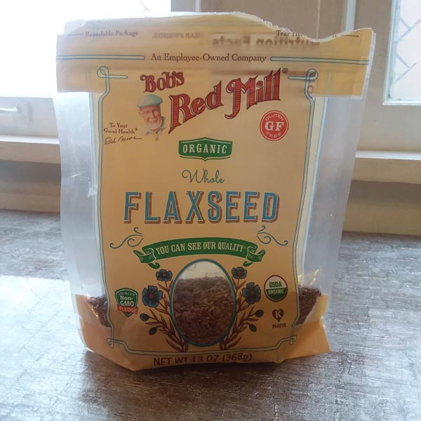 FLAXSEED that Deej uses