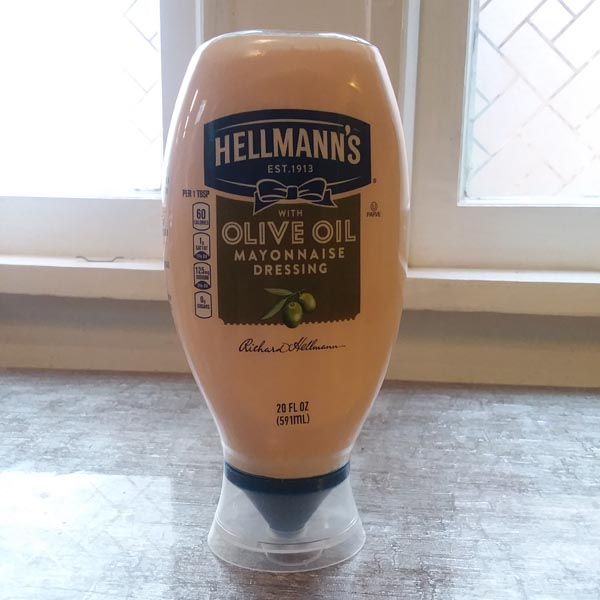 Mayo with Olive Oil that Deej uses.
