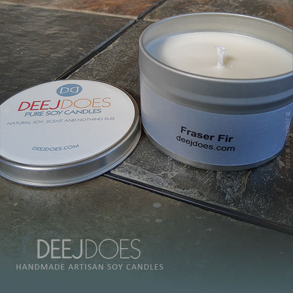 Fraser Fir Soy Candle by DEEJ DOES