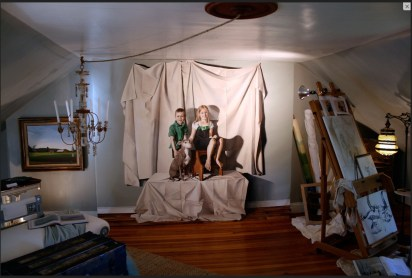 Trompe L'oeil Mural 2009 HEC Decorator Show House