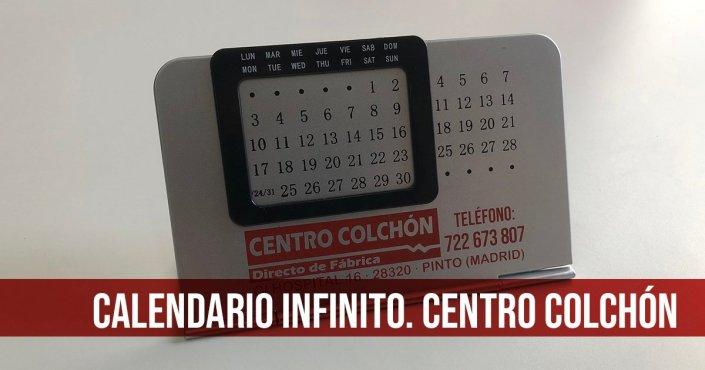 CALENDARIO CENTRO COLCHÓN - IMAGEN DE CATEGORÍA