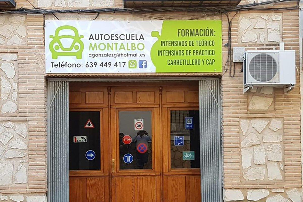 AUTOESCUELA MONTALBO - CARTEL