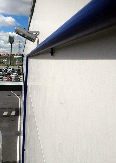 lonas para fachadas - soporte