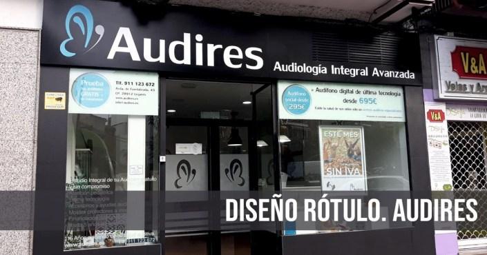 Diseño Rótulo Personalizado Audires