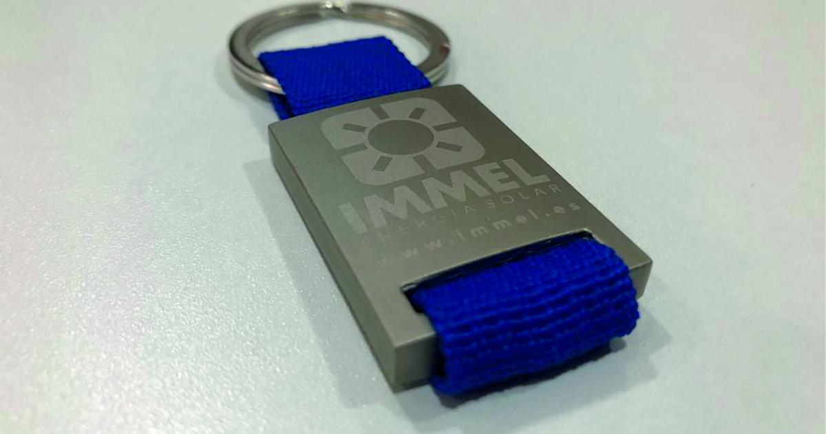 Llaveros personalizados IMMEL