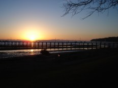 Sunset in White Rock, BC