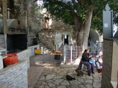 The grounds around Elijah's Cave