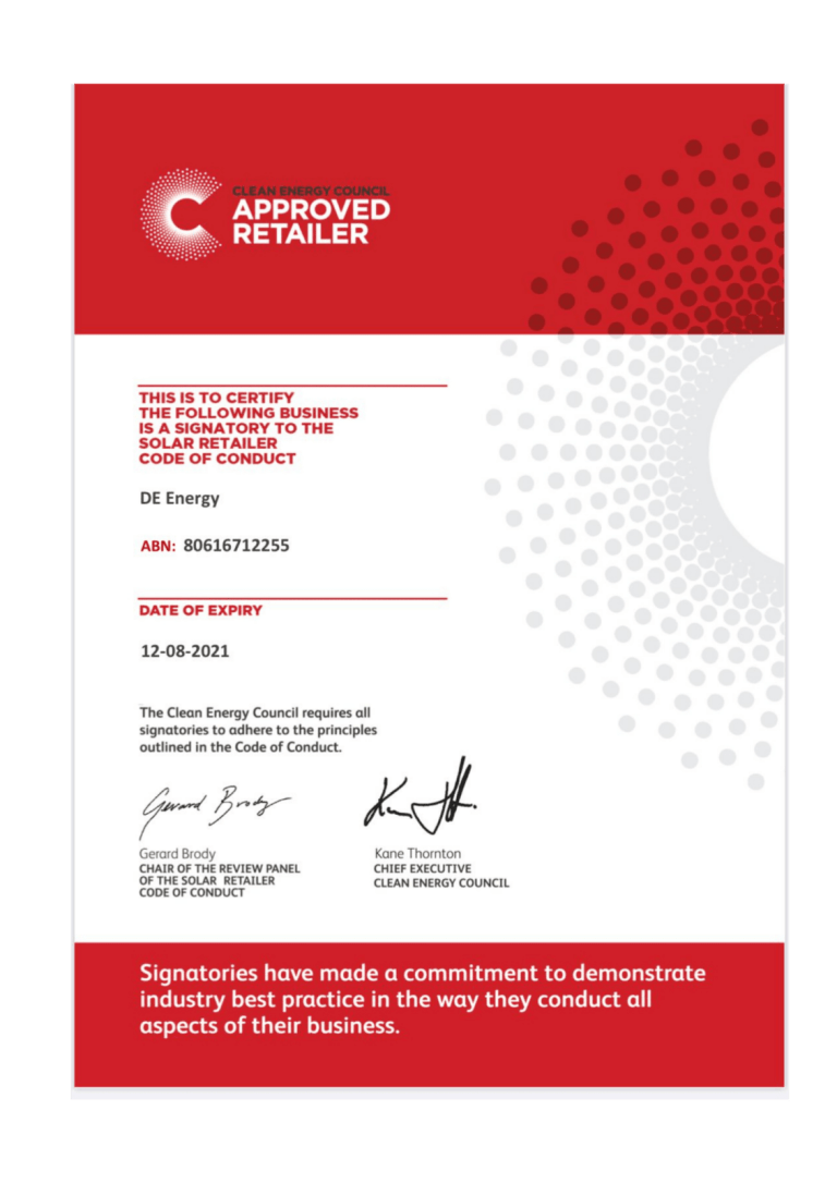 Approved Solar Retailer