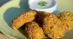 Curried Chickpea and Millett Croquettes