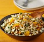Rice Salad with Fennel, Orange and Chickpeas