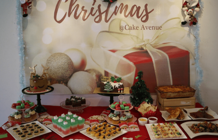 The Sleigh Bells Are Ringing at Cake Avenue!