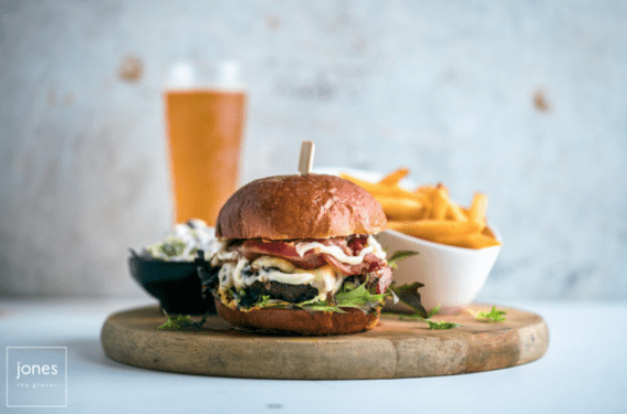 Jones The Grocer : New Gourmet Burger Menu – Best Wagyu Burger