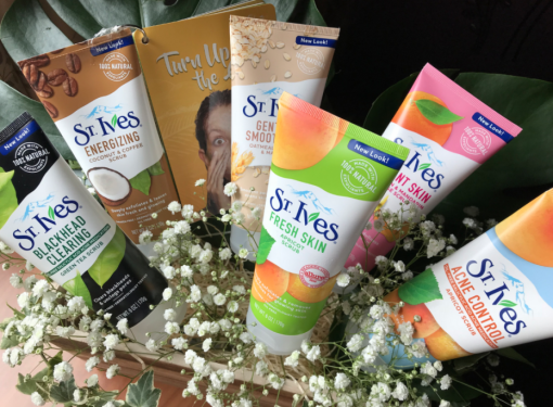 Turn Up The Glow with St.Ives Face Scrubs