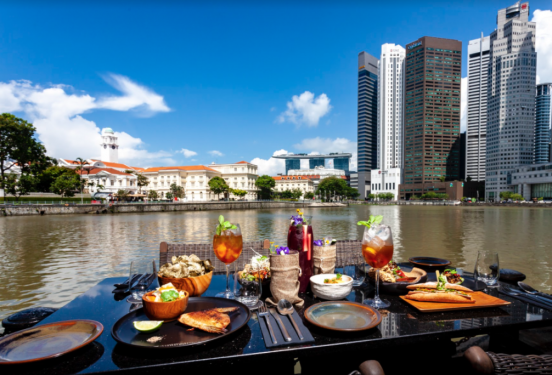 The Sampan @ Boat Quay : Pan Asian Cuisine with A Twist