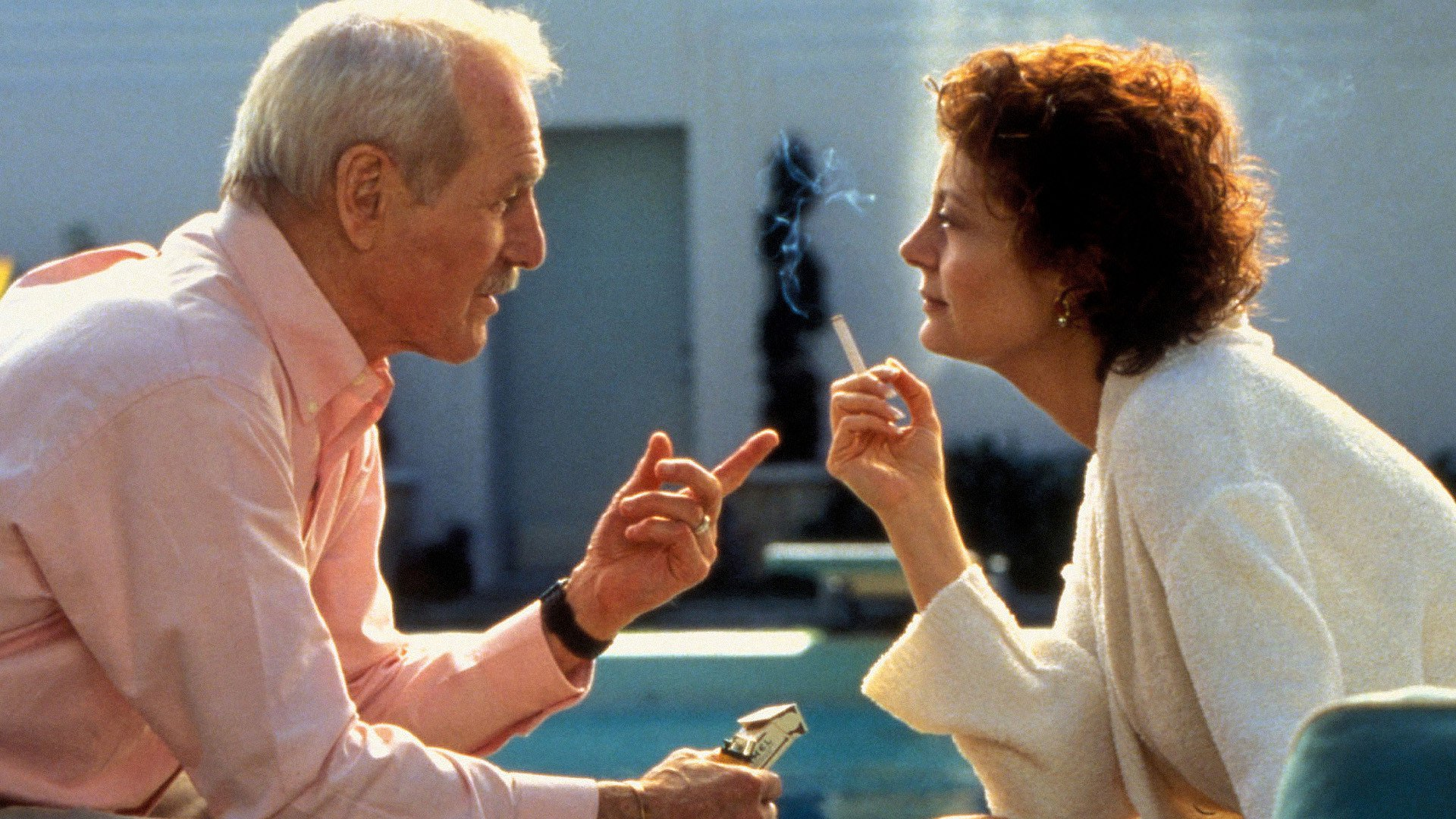 Paul Newman and Susan Sarandon in Twilight