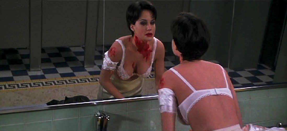 Carla Gugino in Snake Eyes