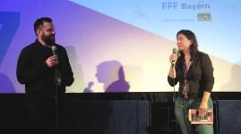 Tom Botchii (Regisseur von Artik) im Q&A