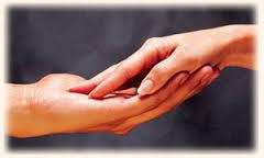 touching arm