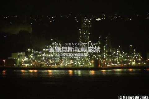 室蘭市 工場夜景