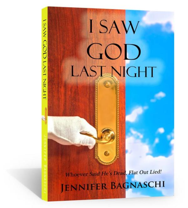 I Saw God Last Night Book