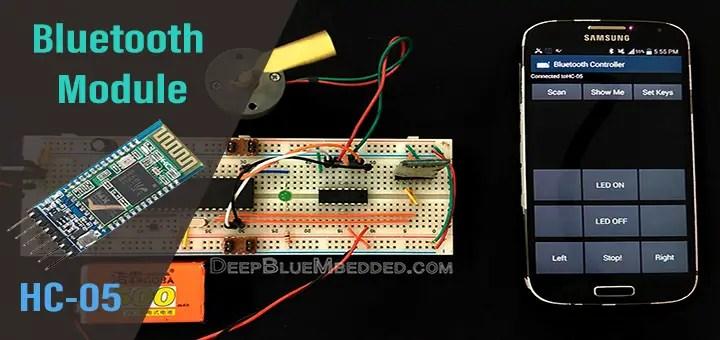 Bluetooth Module HC-05 With PIC Microcontroller Tutorial – DeepBlue