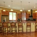 Vacation Lodge Kitchen Island Seating Deep Creek Lake Vacation Home Rentals